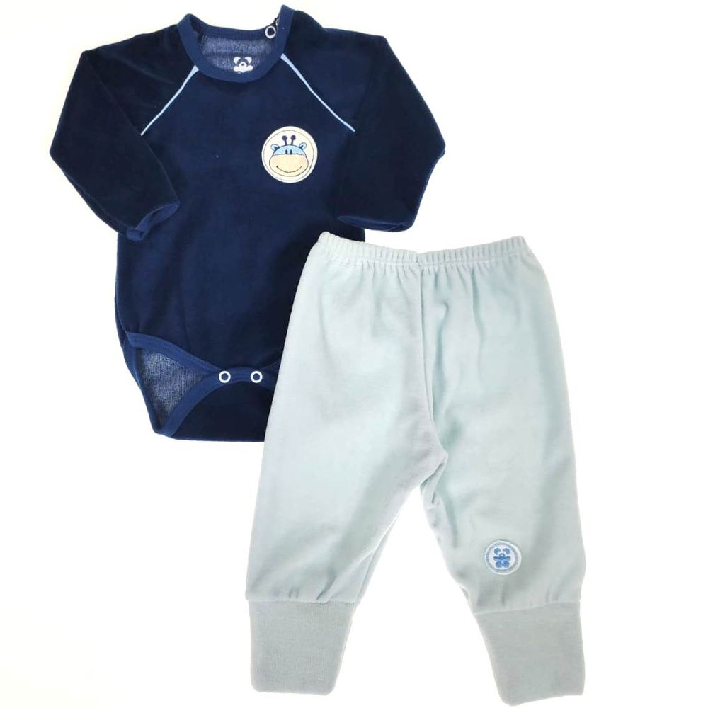 Conjunto-Body-e-Calca-de-Plush-Azul-RN